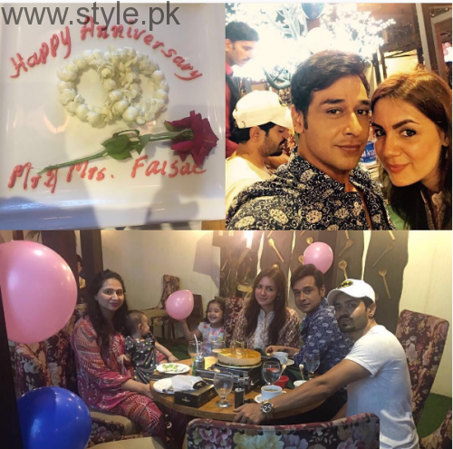 Faisal Qureshi celebrated his 6th Anniversary (3)
