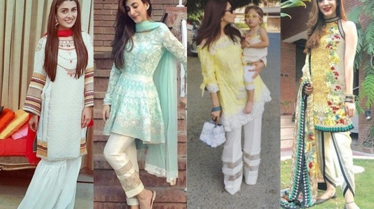 See Fashion Trends followed by Actresses on Eid-ul-Azha 2016