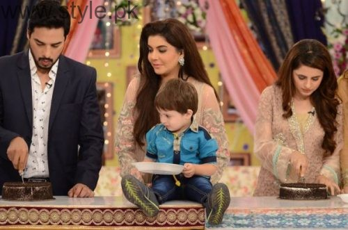Fatima Effendi and Kanwar Arsalan celebrated their son's third birthday (11)