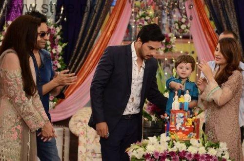Fatima Effendi and Kanwar Arsalan celebrated their son's third birthday (6)