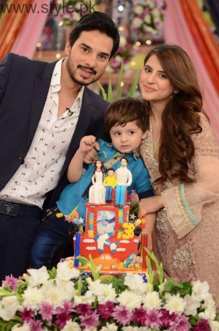 Fatima Effendi and Kanwar Arsalan celebrated their son's third birthday (8)