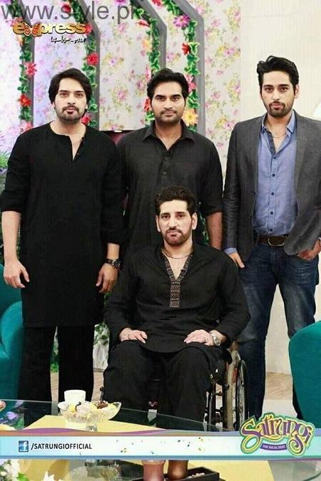 Humayun Saeed with his brothers (10)