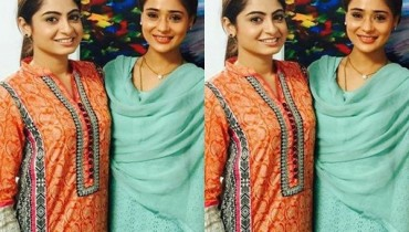 See Indian Actress Sara Khan on Location of her debut Pakistani Drama