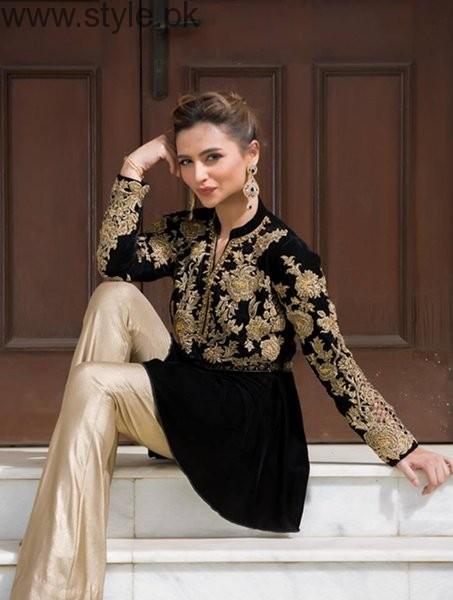 See Latest Black Eid Dresses 2016