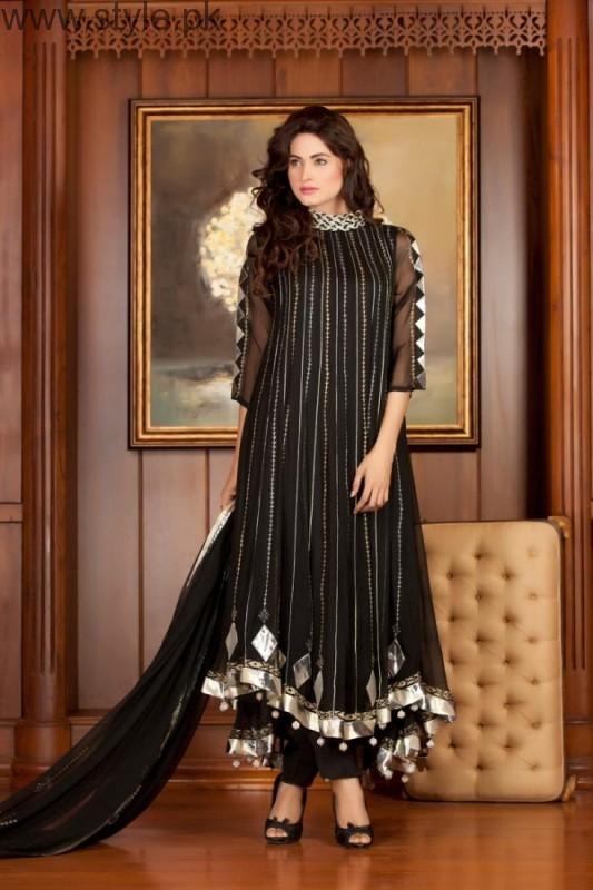 Latest Black Eid Dresses 2016 (10)
