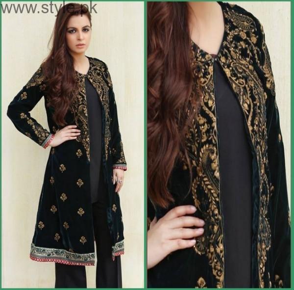 Latest Black Eid Dresses 2016 (2)