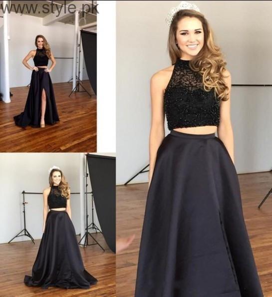 Latest Black Eid Dresses 2016 (3)