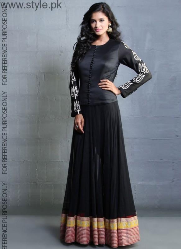 Latest Black Eid Dresses 2016 (7)