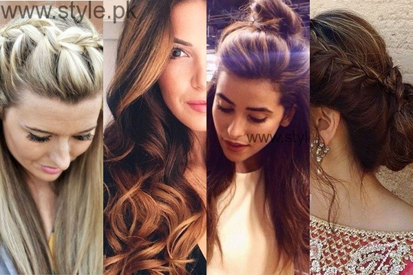 Latest Hairstyles for Eid 2016