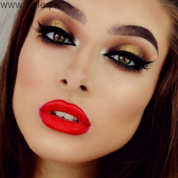 Latest Makeup Ideas 2016 for Eid (5)