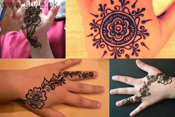 Mehndi Bracelet Design For Kids : Eid special latest mehndi designs for kids
