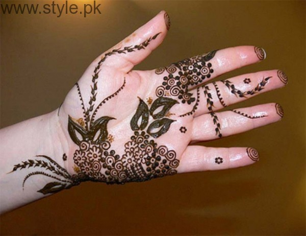 Latest Mehndi Designs 2016 for Kids (10)