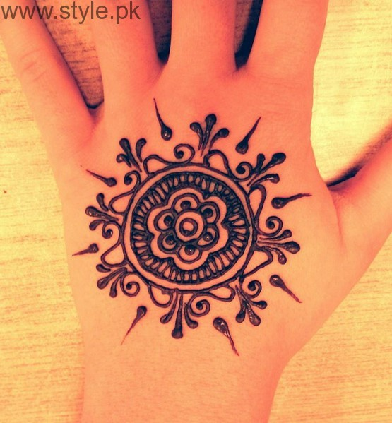 Latest Mehndi Designs 2016 for Kids (14)