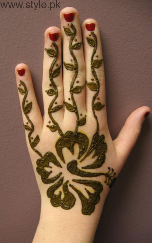Latest Mehndi Designs 2016 for Kids (16)