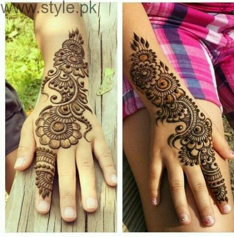 Latest Mehndi Designs 2016 for Kids (4)