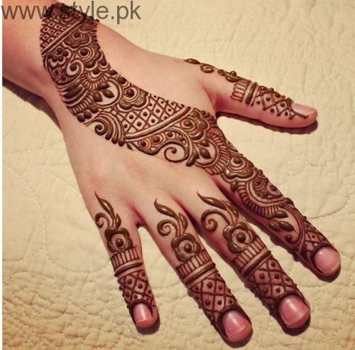 Latest Mehndi Designs for Eid-ul-Azha 2016 (24)