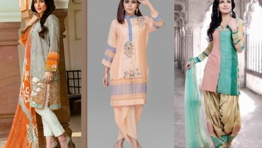 SeeLatest Pakistani Eid Dresses 2016