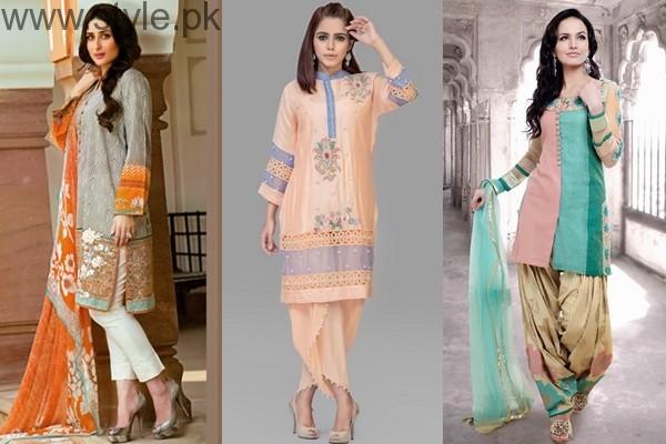 See Latest Pakistani Eid Dresses 2016Latest Pakistani Eid Dresses 2016