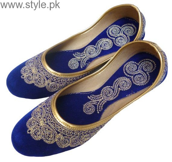 Latest Pakistani Khussa Designs 2016 for Eid (3)