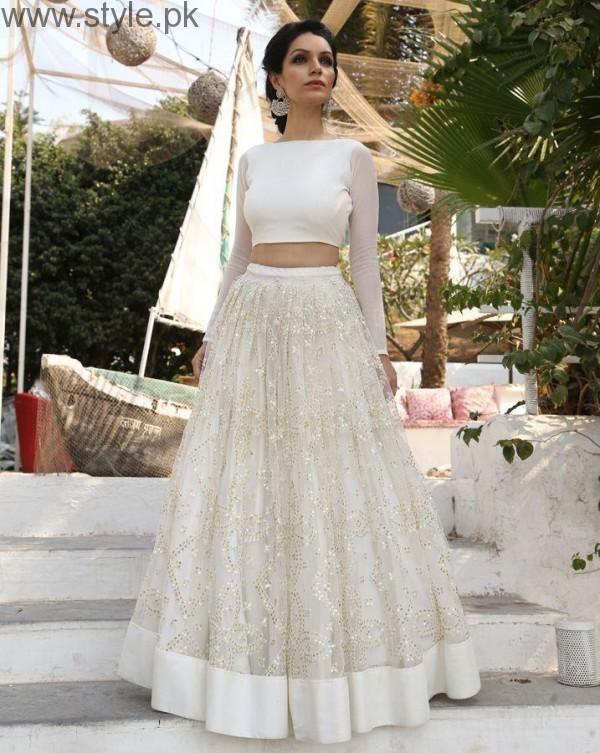b5bcab827e9c Latest Pakistani White party wear dresses 2016 (5)