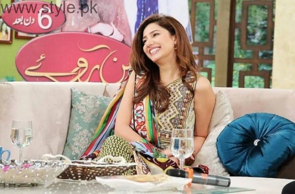 Mahira Khan In JPJ For Bin Roye Promotions