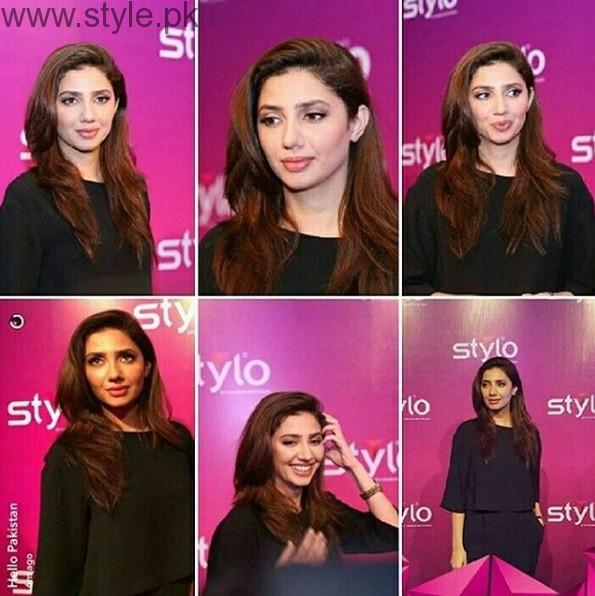 Mahira Khan Stylo Event