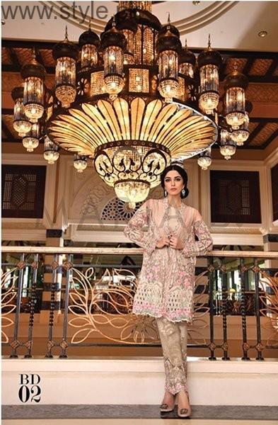 Maria B Mbroidered Eid Ul Azha Dresses 2016 For Women006