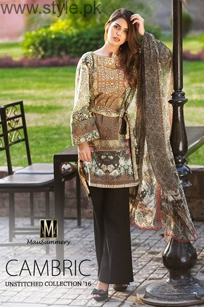 Mausummery Cambric Dresses 2016 For Women005