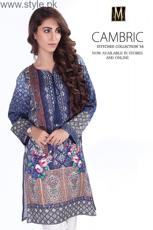 Mausummery Cambric Ready To Wear Dresses 2016 For Women004