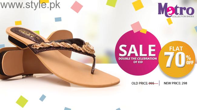 Metro Eid Ul Azha Shoes And Bags 2016 For Women002