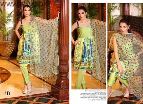 Nadia Hussain Midsummer Dresses 2016 By Shariq Textiles