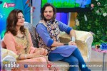 Noman Javaid and Jana Malik In Ek Nayee Subah with Farah