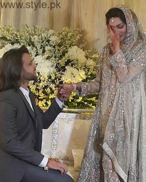 Noman Javaid and Jana Malik Wedding Picture