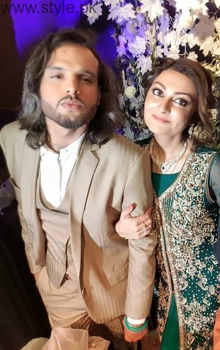 Nouman Javaid and Jana Malik's Walima Pictures (2)