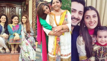 See Pakistani Celebrities on Eid-ul-Azha 2016 Day 1