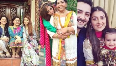 See Pakistani Celebrities on Eid-ul-Azha 2016 Day 1