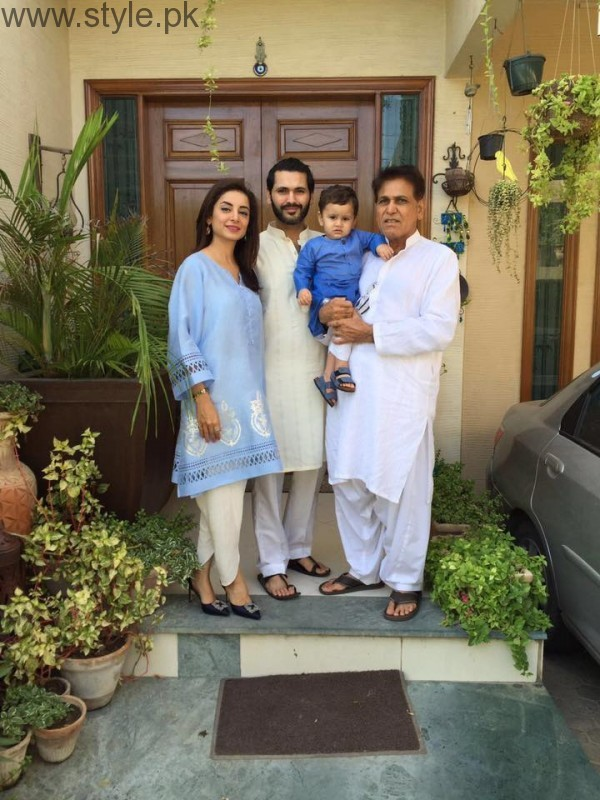 Pakistani Celebrities on Eid-ul-Azha 2016 Day 2 (3)