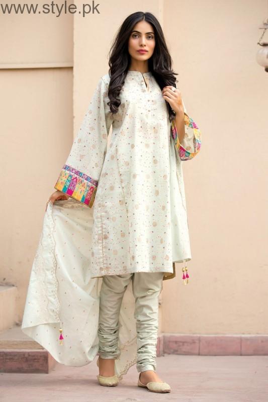 Pakistani White Dresses For Eid 2016