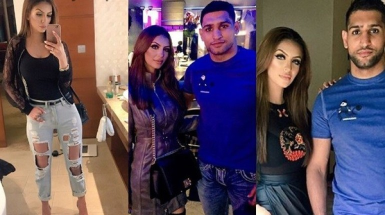 See Pictures of Boxer Amir Khan with his Wife