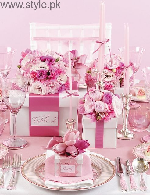 Pink-Themed Bridal Shower Ideas