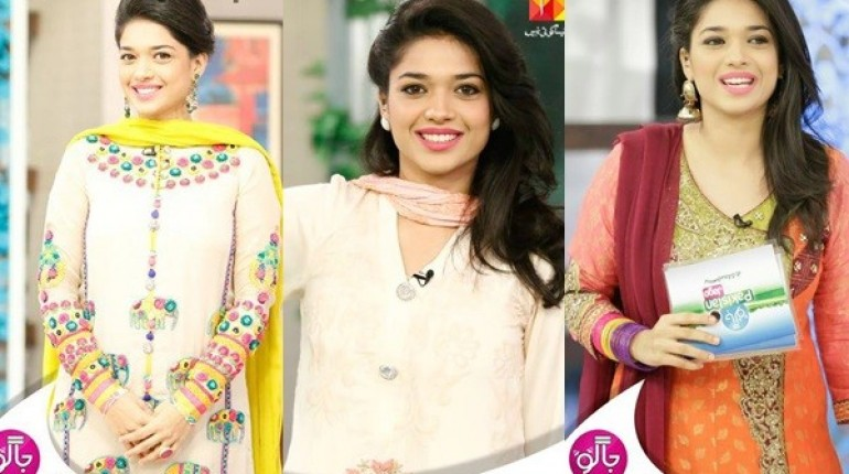 See Sanam Jung proves that you can carry pink lipstick with every dress