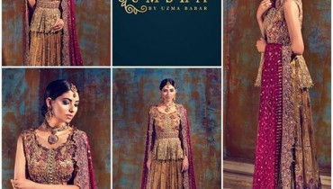 Umsha By Uzma Babar Bridal Dresses 2016 For Women