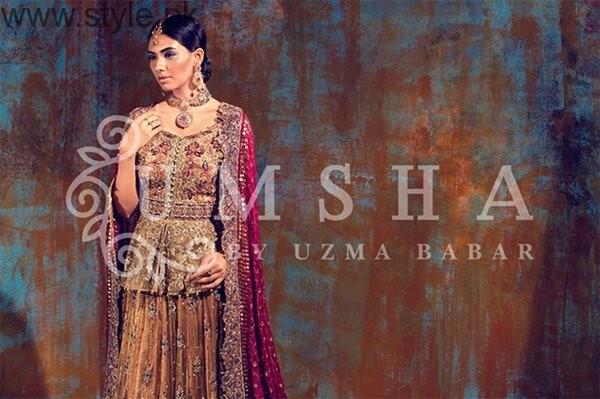 Umsha By Uzma Babar Bridal Dresses 2016 For Women003