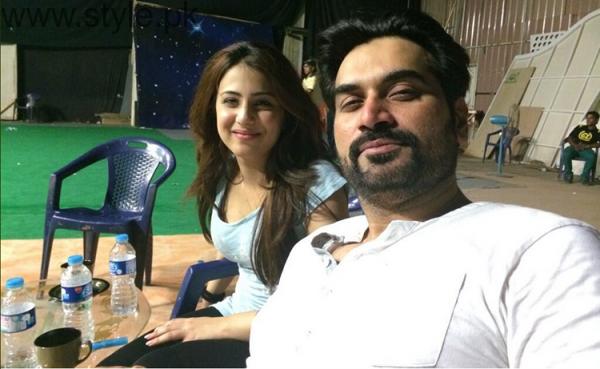 Ushna Shah and Humayun Saeed