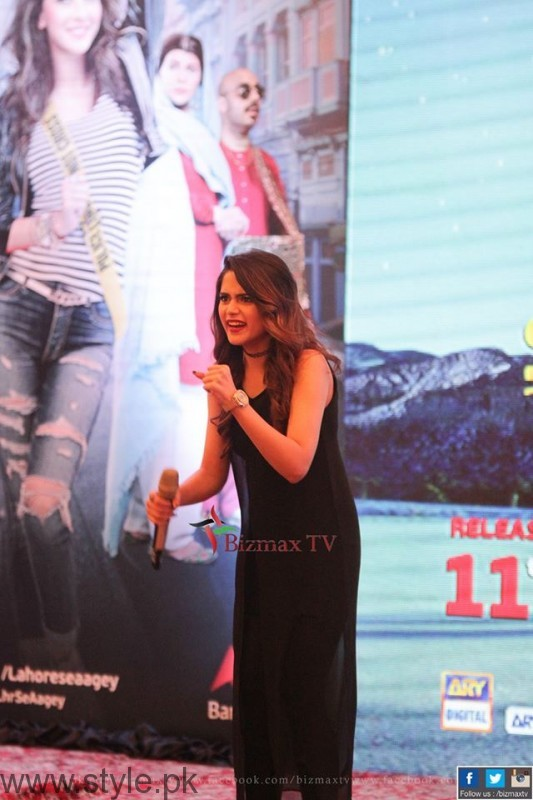 Aima Baig at Music Launch Of Lahore Se Aagey