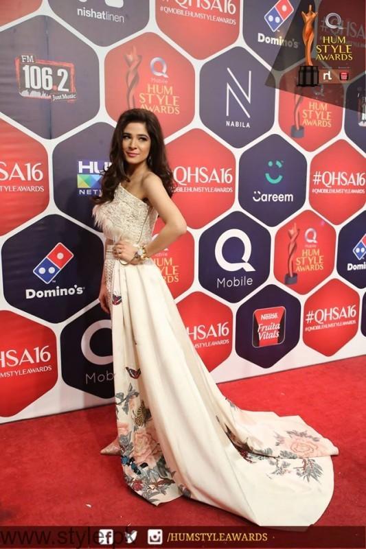 Ayesha Omar Best Styled Celeb Hum Style Awards