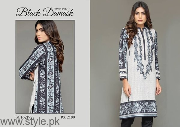Bonanza Garments Black And White Dresses 2016 For Women005