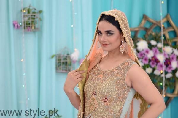 Bridal Wear in Good Morning Pakistan