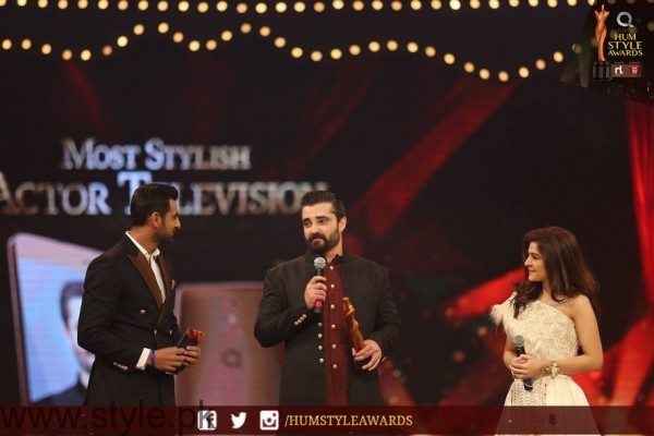 Celebrities at Qmobile HUM Style Awards 2016 (57)