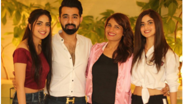 See Celebrities at Singer Hassan Hayat's birthday
